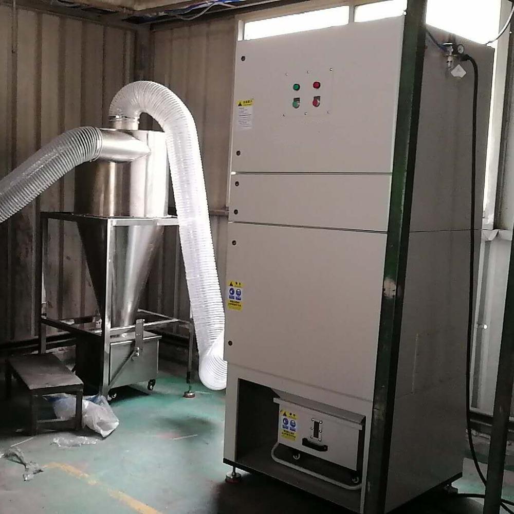 Tủ Dust Collector đã được lắp đặt và vận hành